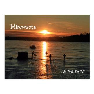 "Minnesota Nuff ""frío ''Fer 'Ya?"" Postal"