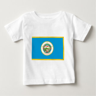 Minnesota Official State Flag Baby T-Shirt