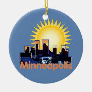 Minnesota Christmas Tree Ornament