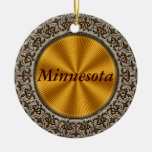 Minnesota Ornamento De Navidad