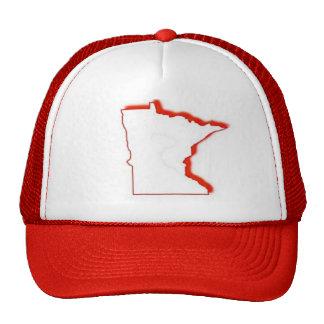 Minnesota outline trucker hat