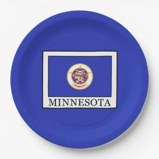 Minnesota Paper Plate