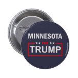Minnesota para el triunfo pin redondo de 2 pulgadas
