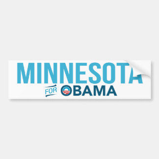 Minnesota para la pegatina para el parachoques de  pegatina para auto