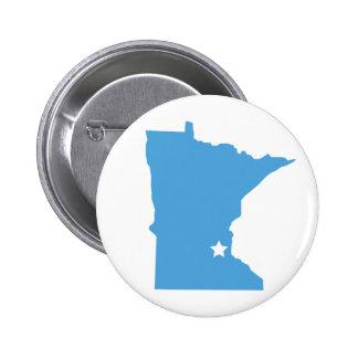¡Minnesota! Pin Redondo De 2 Pulgadas