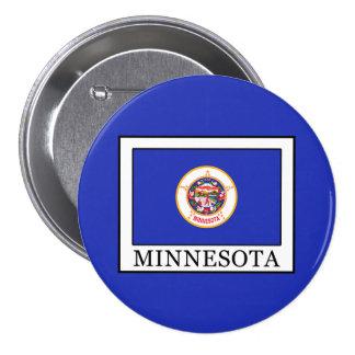 Minnesota Pin Redondo De 3 Pulgadas