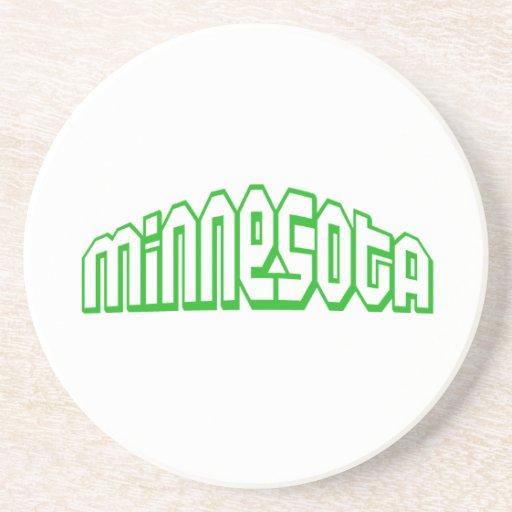 Minnesota Posavasos De Arenisca