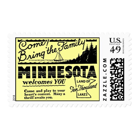 Minnesota Postage Stamps (MEDIUM)