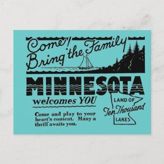 Minnesota Postcard postcard