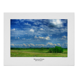 Minnesota Prairie Poster