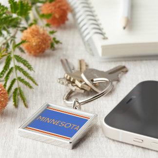 Minnesota Premium Square Keychain