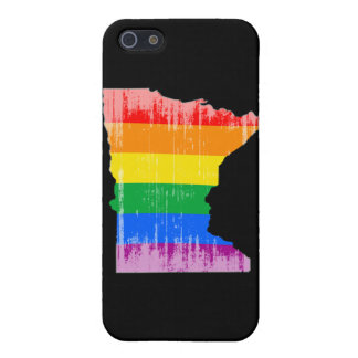 MINNESOTA PRIDE - DISTRESSED -.png iPhone 5 Covers