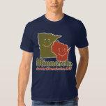 Minnesota que cucharea la camisa de Wisconsin
