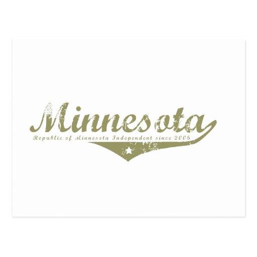 Minnesota Revolution T-shirts Postcards
