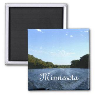 Minnesota River Ride, Minnesota 2 Inch Square Magnet