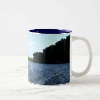 Minnesota River Ride Two-Tone Coffee Mug
