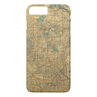 Minnesota road map iPhone 8 plus/7 plus case