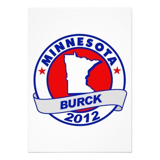 Minnesota Robert Burck Personalized Invitations