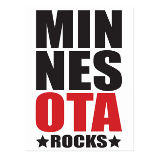 Minnesota Rocks State Spirit Gifts and Apparel Post Card