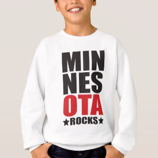 Minnesota Rocks! State Spirit Gifts and Apparel Sweatshirt