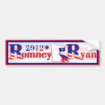 Minnesota Romney and Ryan 2012 Bumper Sticker Car Bumper Sticker