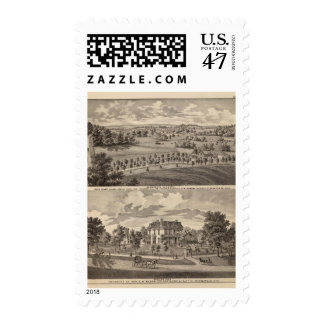 Minnesota scenery at Dead River Valley Postage Stamp