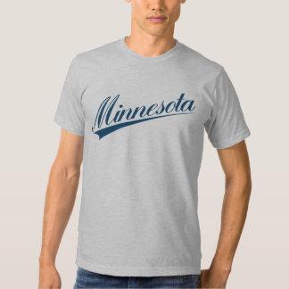 Minnesota Script Baseball Tee