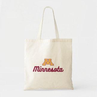 Minnesota   Script Logo Tote Bag