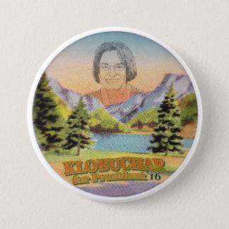 Minnesota Senator Amy Klobuchar for President Pinback Button