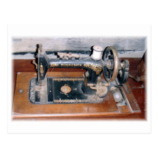 Minnesota sewing machine post cards