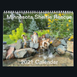 """Minnesota Sheltie Rescue 2021 Calendar<br><div class=""""desc"""">This is the 2021 Minnesota Sheltie Rescue Calendar featuring some of our past alumni and their friends. Proceeds from the sale of this calendar will be used to help other shelties in need.</div>"""