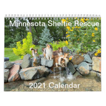 Minnesota Sheltie Rescue 2021 Calendar