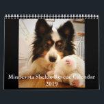 """Minnesota Sheltie Rescue Calendar for 2019<br><div class=""""desc"""">A calendar featuring the friends and adoptees of Minnesota Sheltie Rescue</div>"""