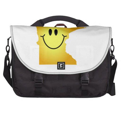 Minnesota Smiley Face Laptop Bags