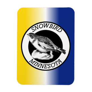 Minnesota Snowbird Magnet
