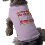 Minnesota - sonriendo camisetas mascota