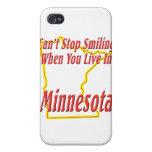 Minnesota - sonriendo iPhone 4 carcasas