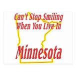 Minnesota - sonriendo postal