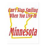 Minnesota - sonriendo postales