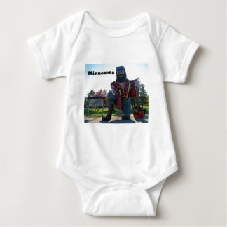 Minnesota Souvenir Baby Bodysuit