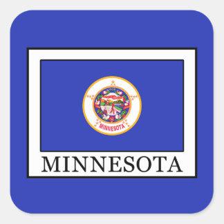 Minnesota Square Sticker