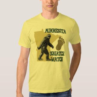 Minnesota Squatch Watch Tee Shirt