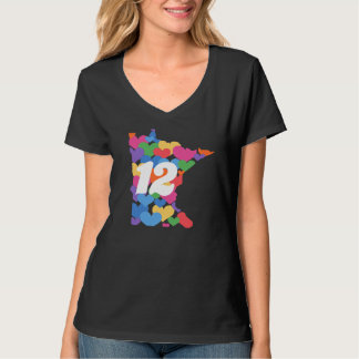 Minnesota State #12 for Same-sex Marriage! T Shirt