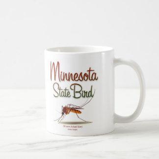 minnesota_state_bird_color classic white coffee mug