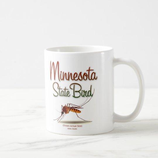 minnesota_state_bird_color coffee mug