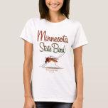 minnesota_state_bird_color T-Shirt