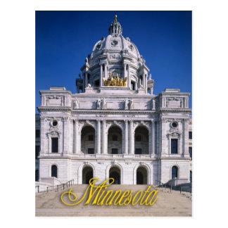 Minnesota State Capitol in Saint Paul Postcard
