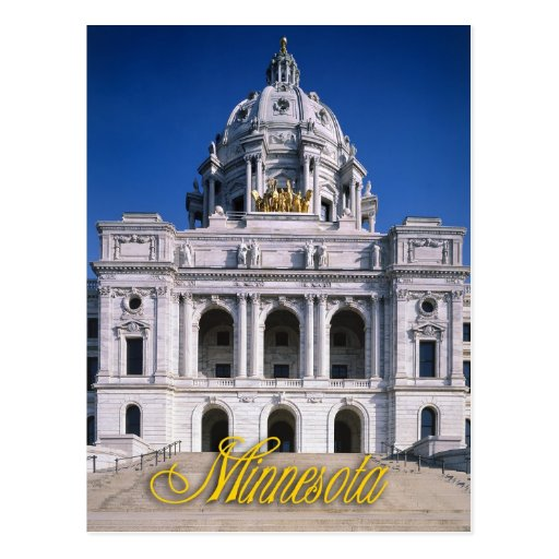 Minnesota State Capitol in Saint Paul Post Cards