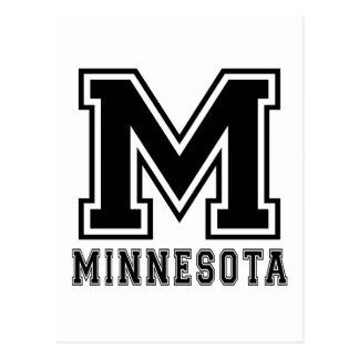 Minnesota State Designs Postcards