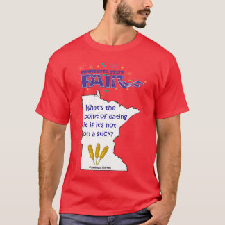 Minnesota State Fair Food Basic Dark Shirt